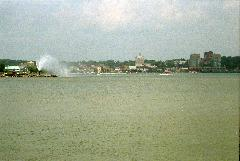 Barrie Waterfront in 1999.