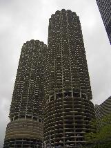 Marina City Towers in Chicago