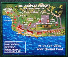 Couples Resort Site Map