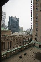 Fairmont Royal York 8th Floor East Wind view from room.