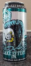 Lake Effect IPA - beer can - front view