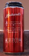 Rickards Red - Beer Can - Back - 2018