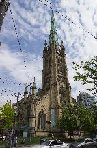 St. James Cathedral Toronto - King Street View