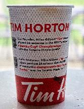 Tim Hortons Coffee - Hockey Special - Medium - Back