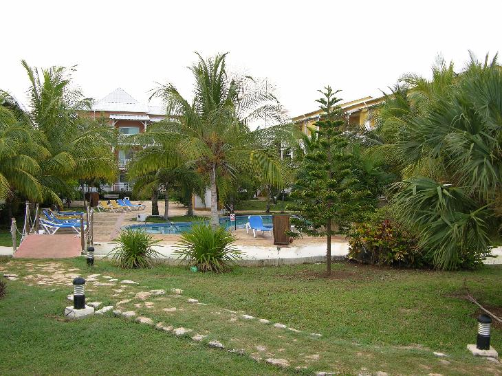 Small pool in garden aread near guest accomodations at Sandals Royal Hicacos in Varadero Cuba.