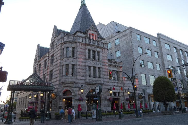 Photo of Irish Times Pub, formerly Bank of Montreal in Victora BC