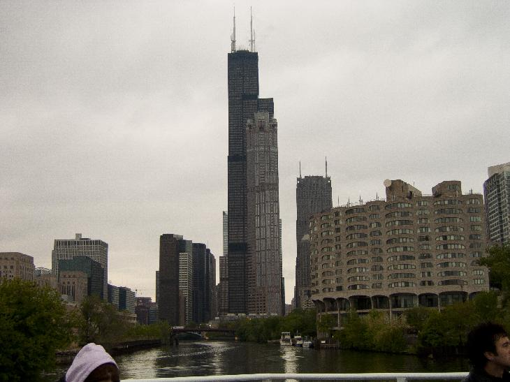 Sears Tower From Chicago River Tour My World Of Photos