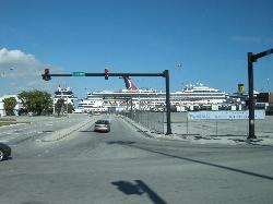 Carnival Freedom Cruise Ship at Port Everglades (2)