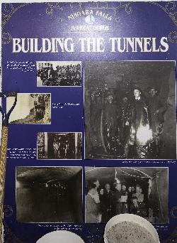 Niagara Falls Poster - Building the Tunnels