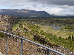 View from Almannagja Rift - Þingvellir National Park