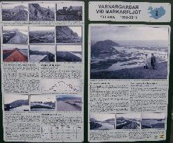 Sign showing history of washouts from Markarfljot river