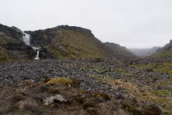 is between Landmannalaugar and Kirkjubæjarklaustur along 208.
