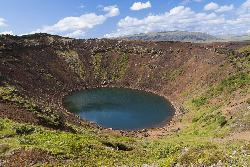 Kerid - Kerid Volcanic Crater in Iceland