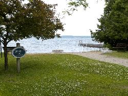 Killarney Beach in Innisfil, Ontario, Canada