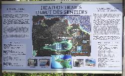Trails Map at Bruce Peninsula National Park
