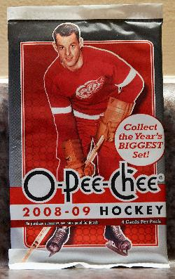 Card Wrapper 2008-2009 O-Pee-Chee Hockey - Godie Howe
