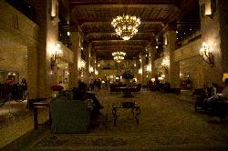 Photo of the historic Fairmont Royal York Lobby in Toronto.