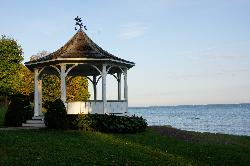 Niagara-on-the-Lake, gazebo used in the filming of Stephen King The Dead Zone