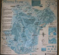Minesing Swamp Map