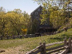 Roblins Mill at Black Creek Pioneer Village near Toronto Ontario