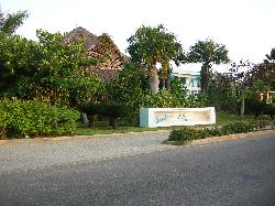 Photo of entrance sign at Sandals Royal Hicacos Resort and spa in Varadero Cuba.
