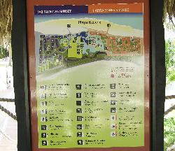 This is a photo of the site map for Sandals Royal Hicacos Resort in Varadero Cuba.
