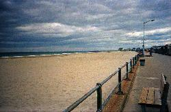 Hampton Beach New Hampshire in 1994