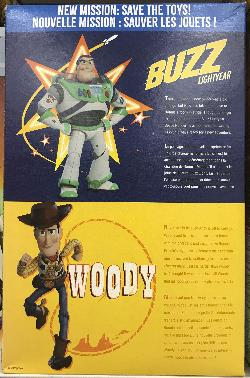 Honey Nut Cherios - Buzz Lightyear - Back