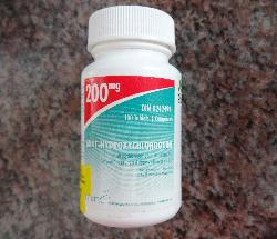 Mint-Hydroxychloroquine Pill Bottle - 200mg