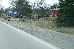 Keldon Town Limits Sign - along Highway 89