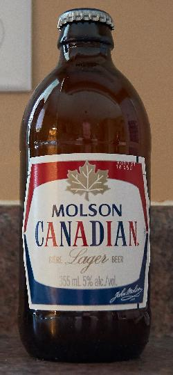 Molson Canadian Stubby - Version 2017
