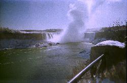 Niagara Falls - Horseshoe Falls in Winter