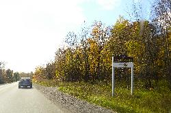 Norland Ontario Town Limits Sign - County Road 45