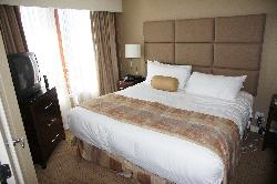 River Rock Casino - King Suite Bedroom