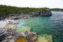 The Grotto at Bruce Peninsula National Park