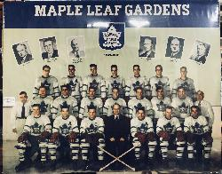 Toronto Maple Leafs 1949-50 Team Photo