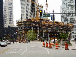 Trump Tower Chicago - under construction