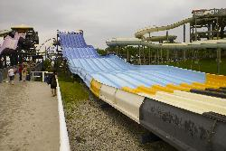 View of Riptide Racer at Splash Works in Canada Wonderland.