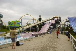 A view of The Plunge at Splash Works in Canada's Wonderland.