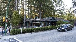 Photo showing the Capilano Suspension Bridge Entrance. You can find google directions to the site here.