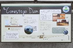 Conestoga Dam - Information Sign