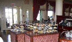 Fairmont Empress - Afternoon Tea Staging Area