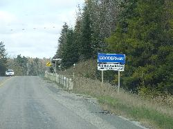 Gooderham - Town Sign - County Road 507 North