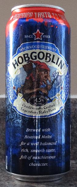 Hobgoblin Beer Can - Front - 2018