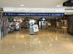 Photo of entrance to Canadian Horse Racing Hall of Fame within the Woodbine Racetrack, in Toronto.