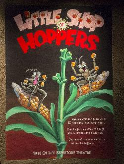 Little Shop of Hoppers Poster at Disney's Animal Kingdom