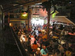 Margaritaville Restaurant in Key West - inside