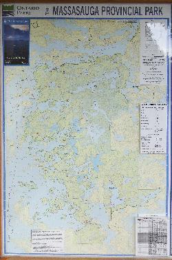 Massasauga Provincial Park Map