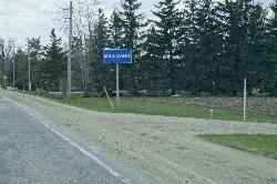 Millbank Ontario - Entrance Sign - along County Road 121