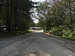 New Lowell Campground - entrance and main office
